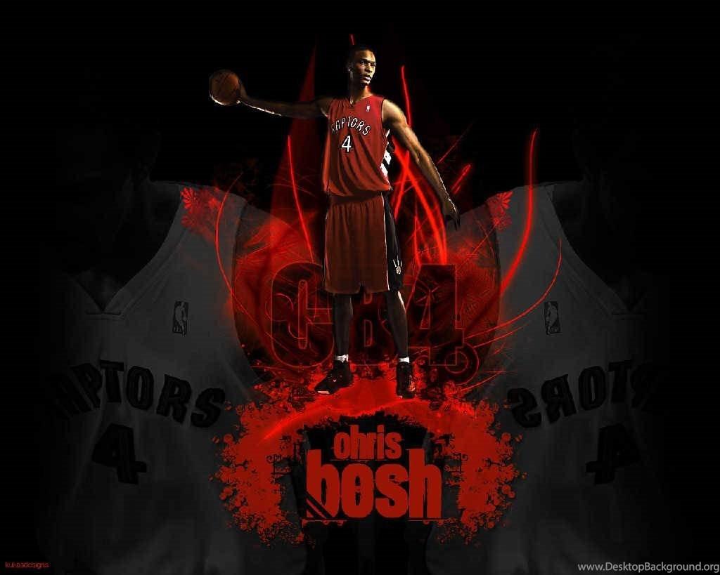 Chris Bosh Wallpapers Toronto Raptors Desktop Background