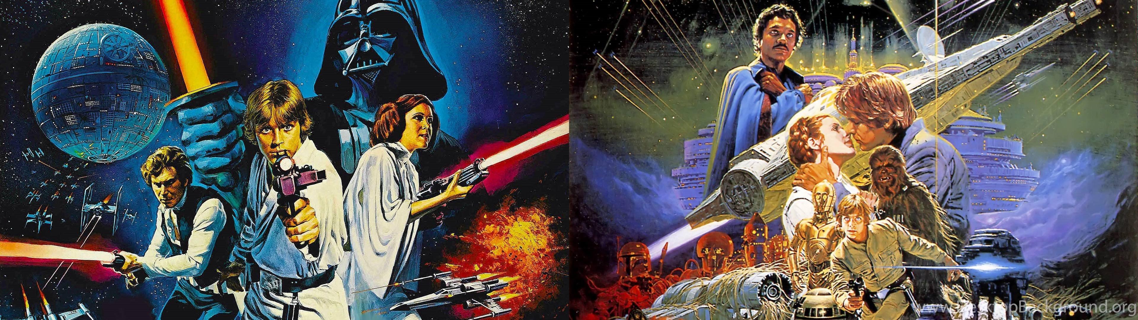 Star Wars Posters Dual Monitor Wallpapers Album On Imgur Desktop Background
