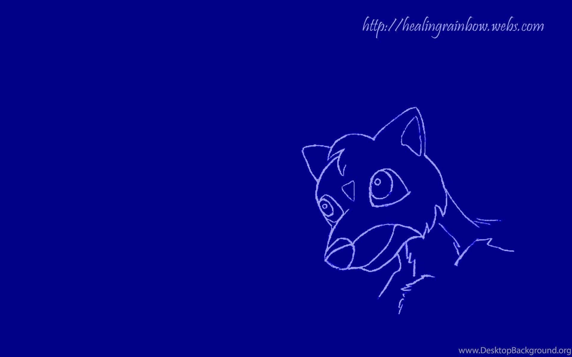 Cute Creature Blue Wallpapers Desktop Background