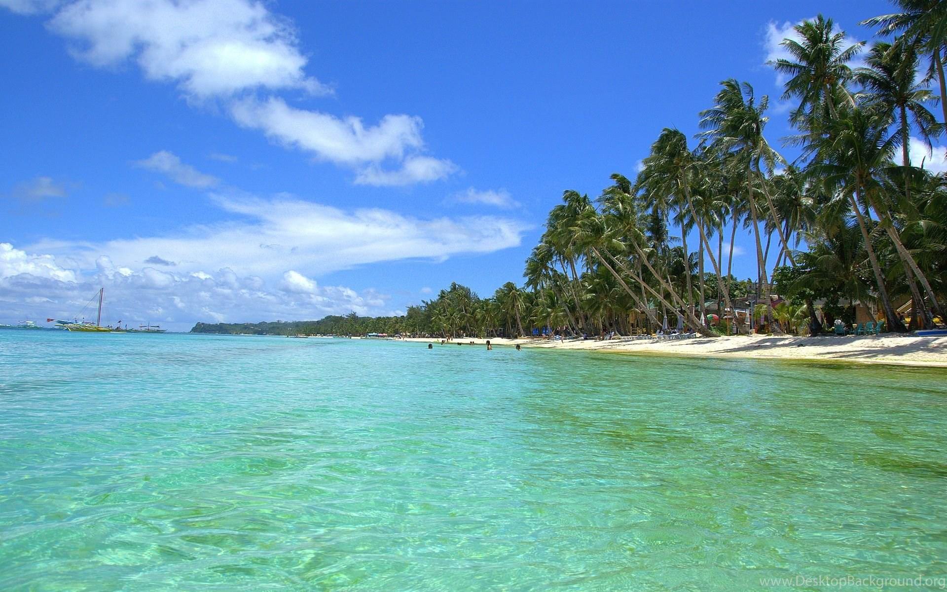 tropical beach scenes wallpapers free wallpaper images desktop