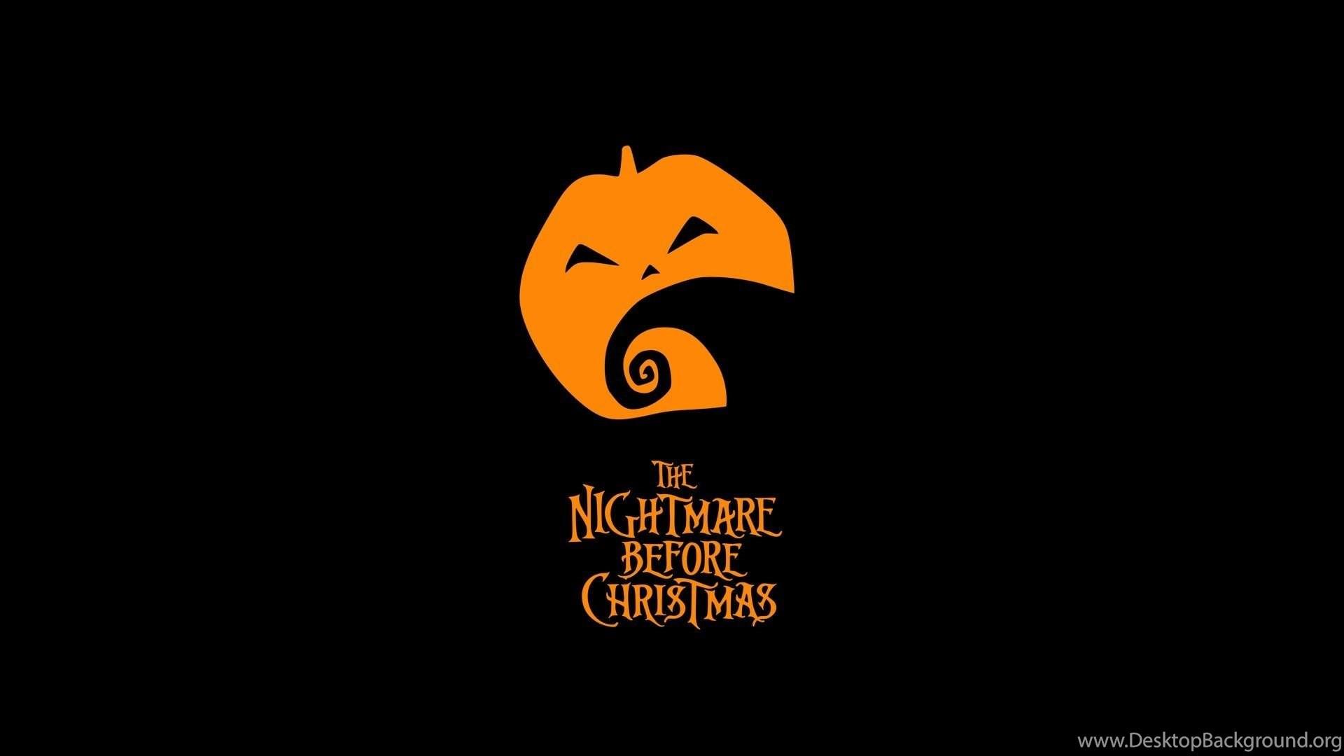 Pumpkin Night Before Christmas Wallpapers Desktop Background