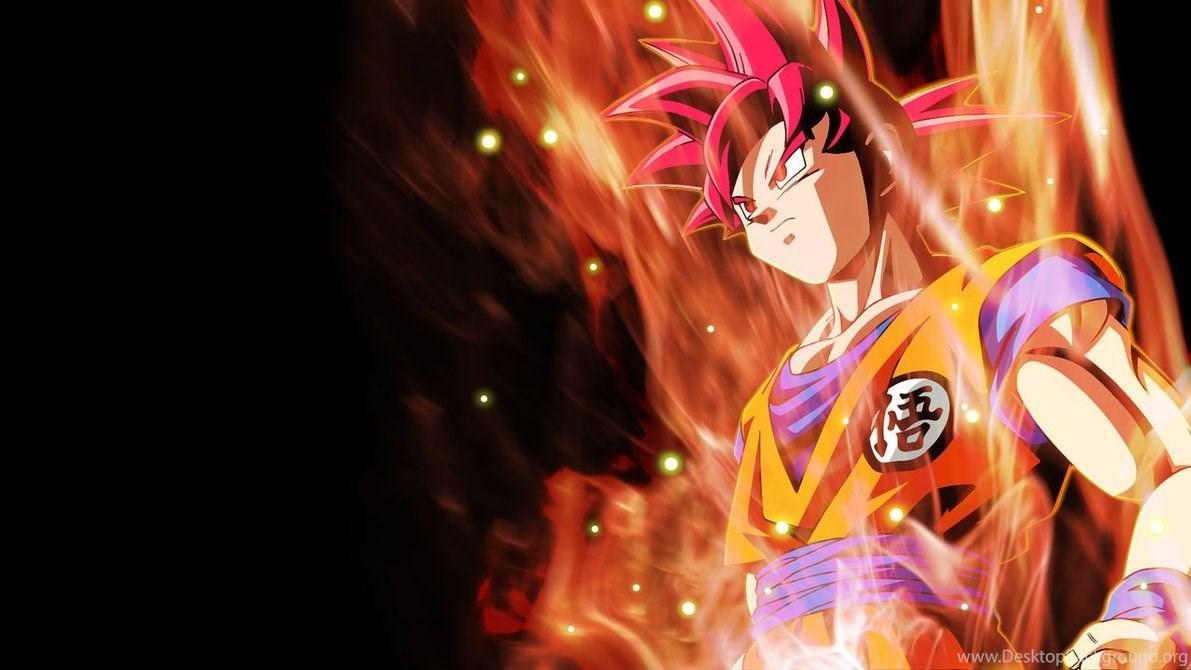 Dragon Ball Z Wallpapers Goku Super Saiyan God Hd Wallpapers