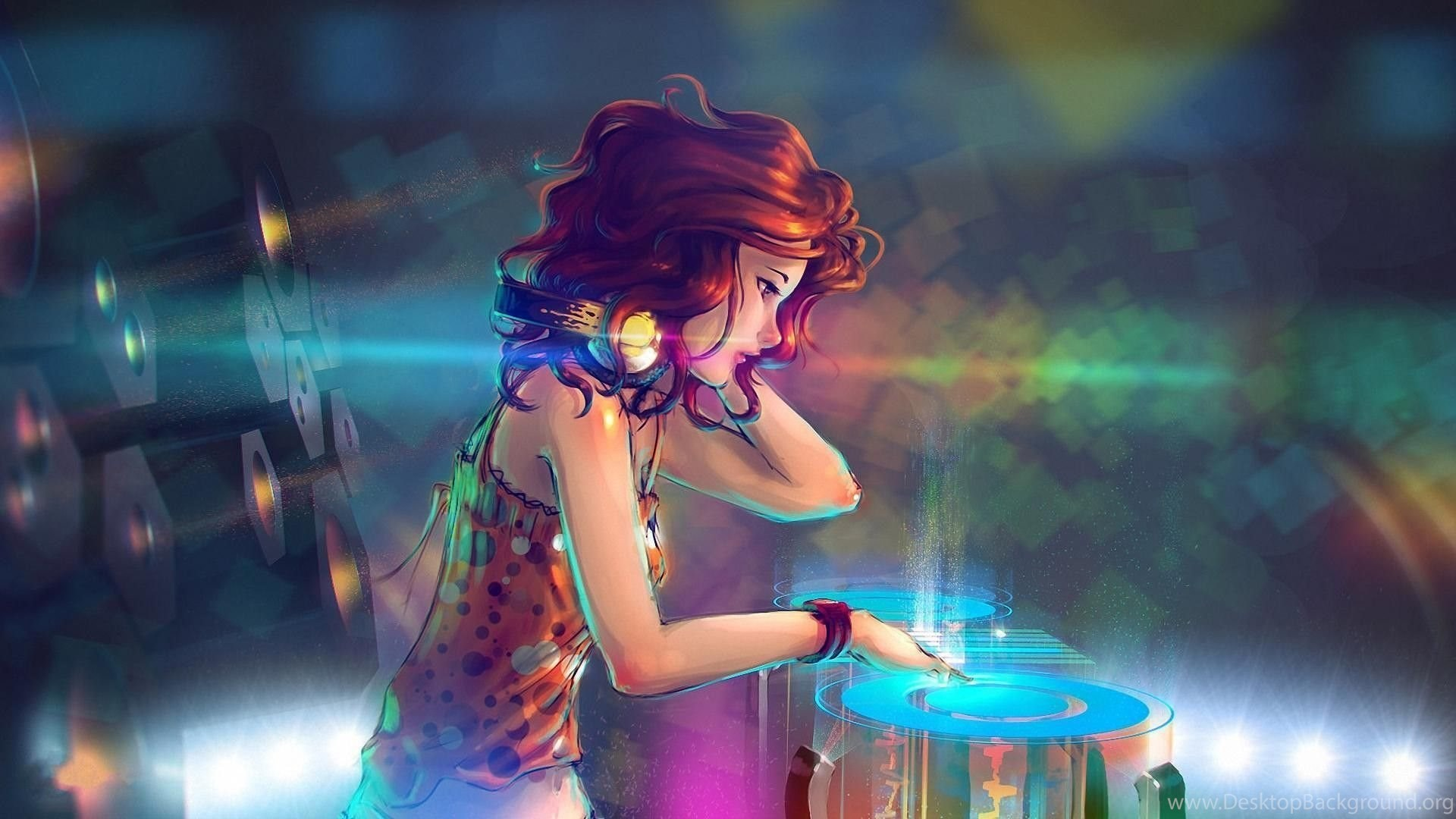 Animated Wallpapers For Desktop Anime Girl DJ Animated Girl jpg
