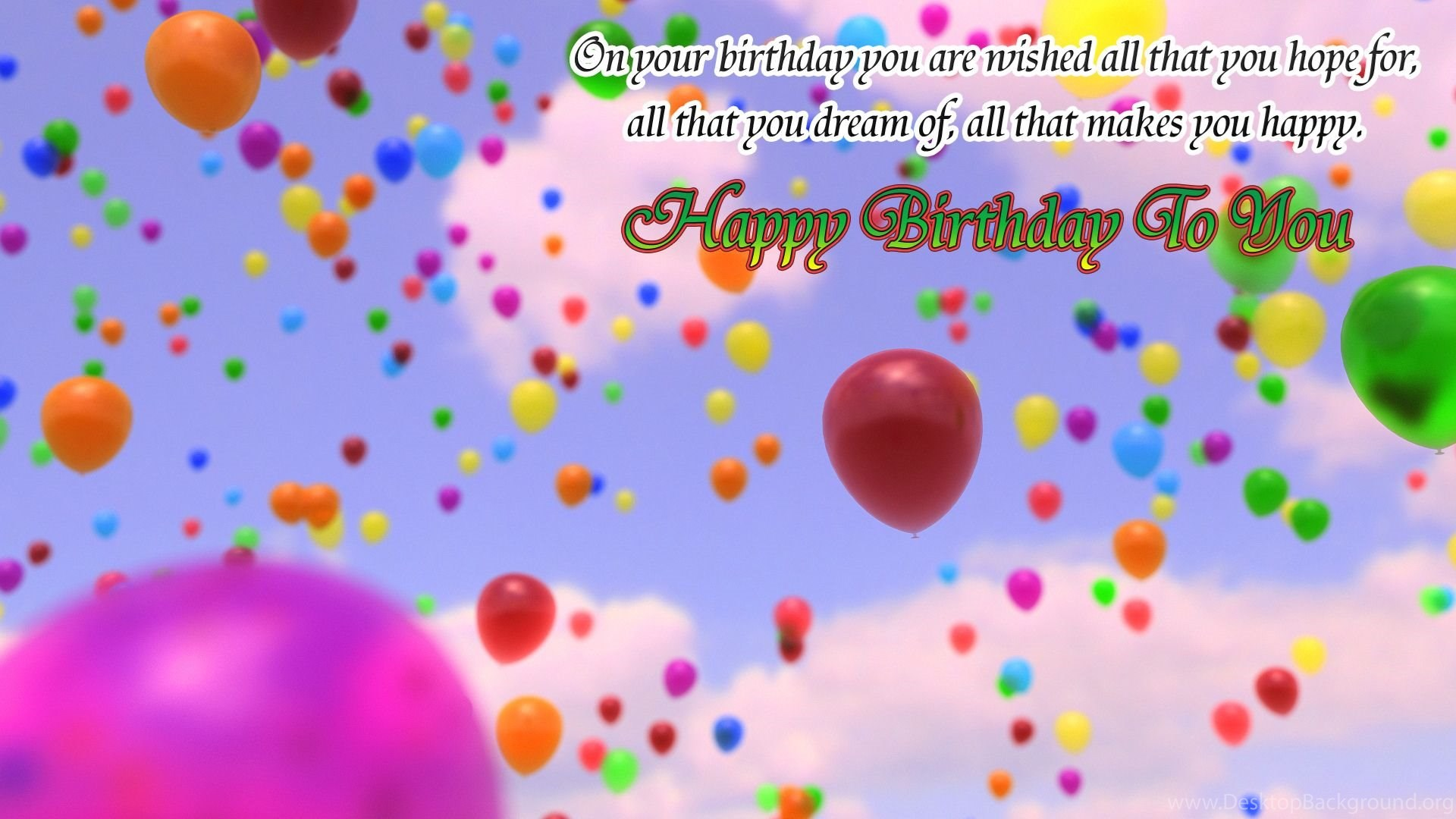 Happy Birthday Card Wallpaper Image collections Free Birthday Cards