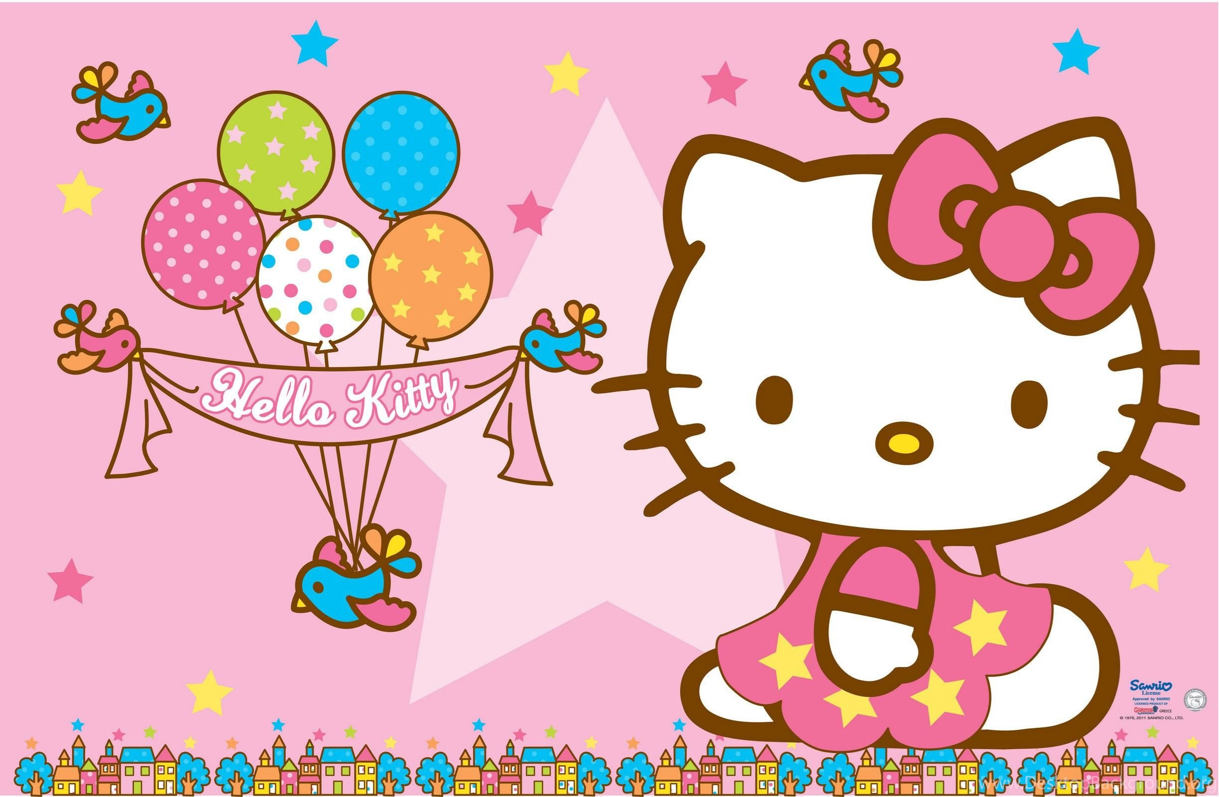Cool Wallpaper Hello Kitty Note 2 - 374596_hello-kitty-wallpapers-pink-backgrounds-and-balloons-for-birthday_2448x1600_h  Graphic_933017.jpg