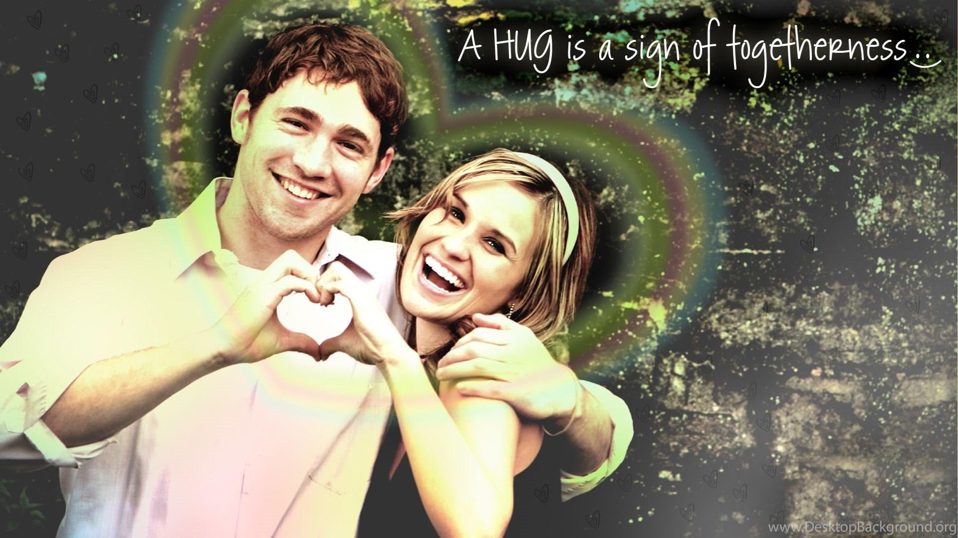 cute romantic couples hd wallpaper desktop background