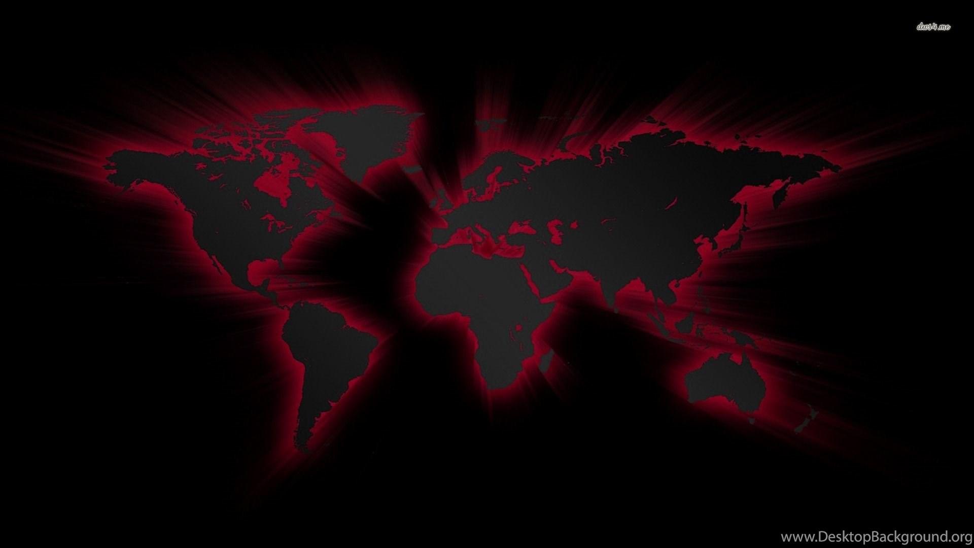 Black world map wallpapers digital art wallpapers desktop background popular gumiabroncs Gallery