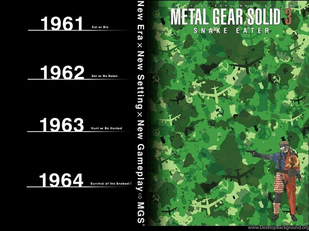 Wallpapers De Metal Gear Solid 3 Snake Eater Taringa Desktop