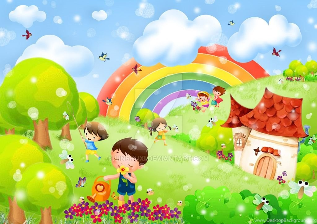 garden kids wallpapers  learning  linshuxi