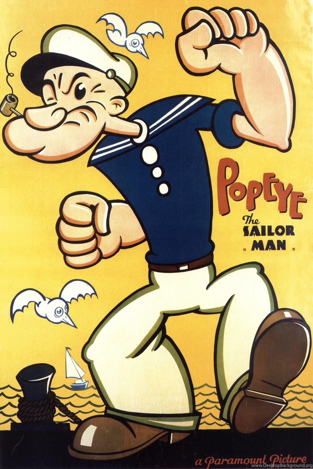 Popeye The Sailor Man Hd Image Wallpapers For Android Cartoons