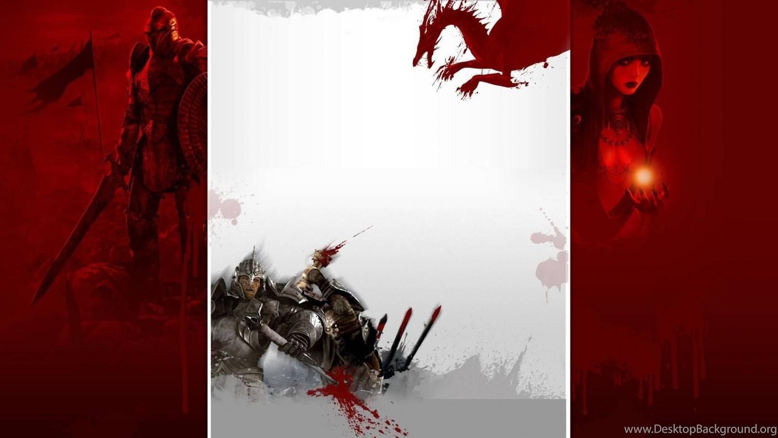 Morrigan Red Dragon Age Origins Wallpapers Desktop Background