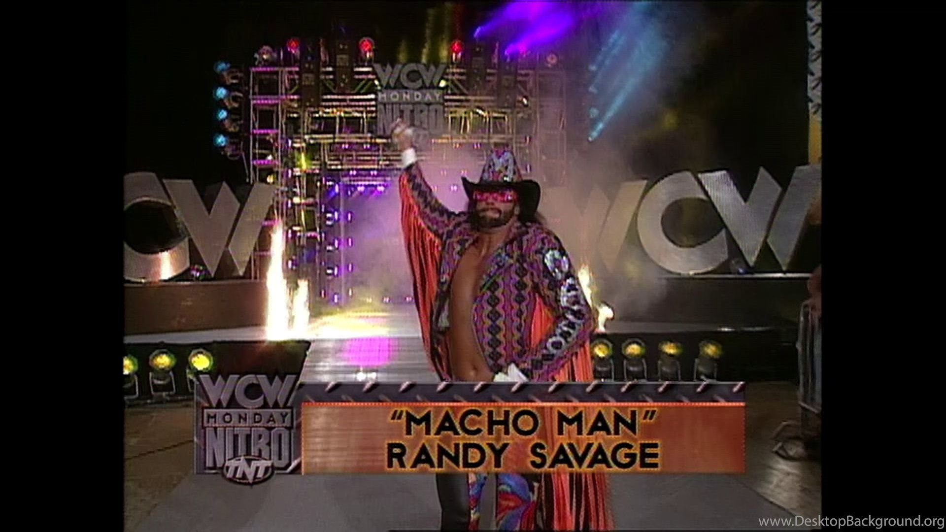 WWE Macho Man The Randy Savage Story Fetch Publicity Desktop