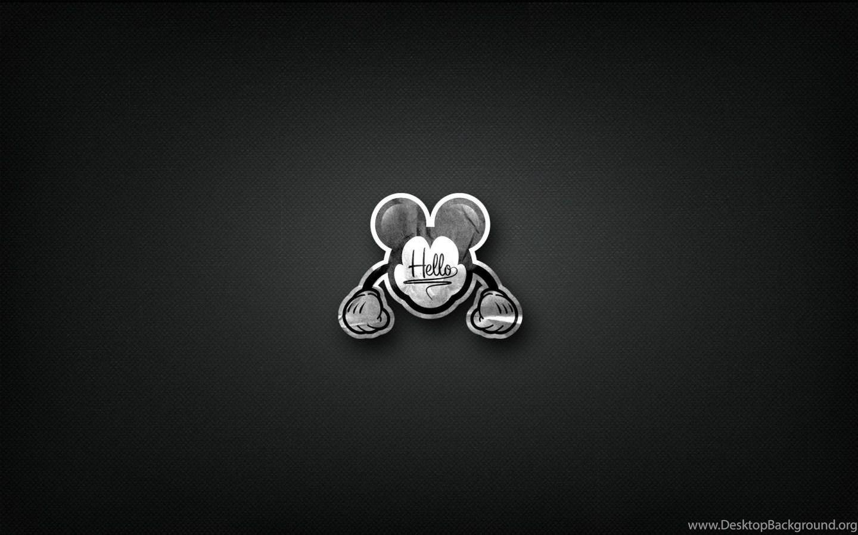 Mickey Mouse Minimalist Wallpapers 1440x900 416147 Desktop Background
