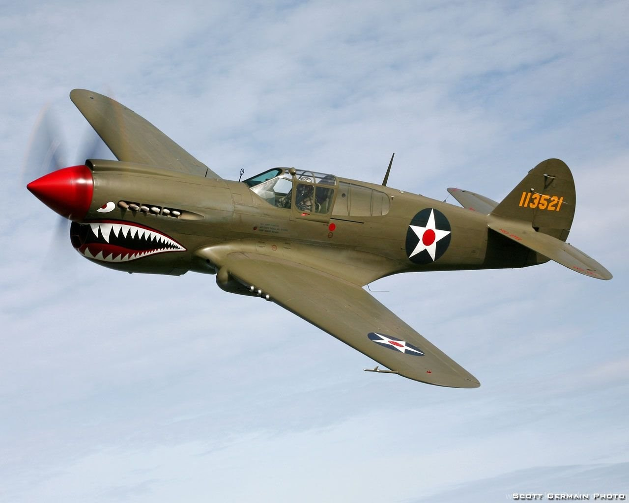 Plane Of The Day Curtiss P 40 Warhawk Desktop Background