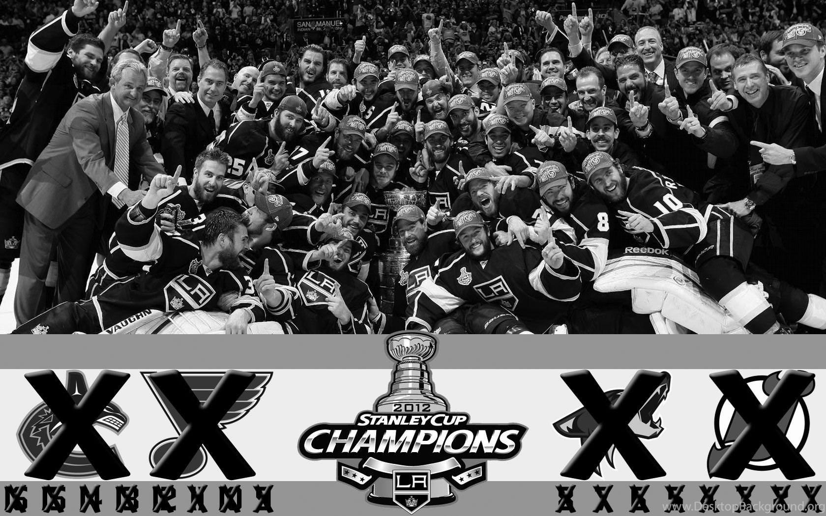 La Kings Stanley Cup Wallpapers Wallpaper Desktop Background