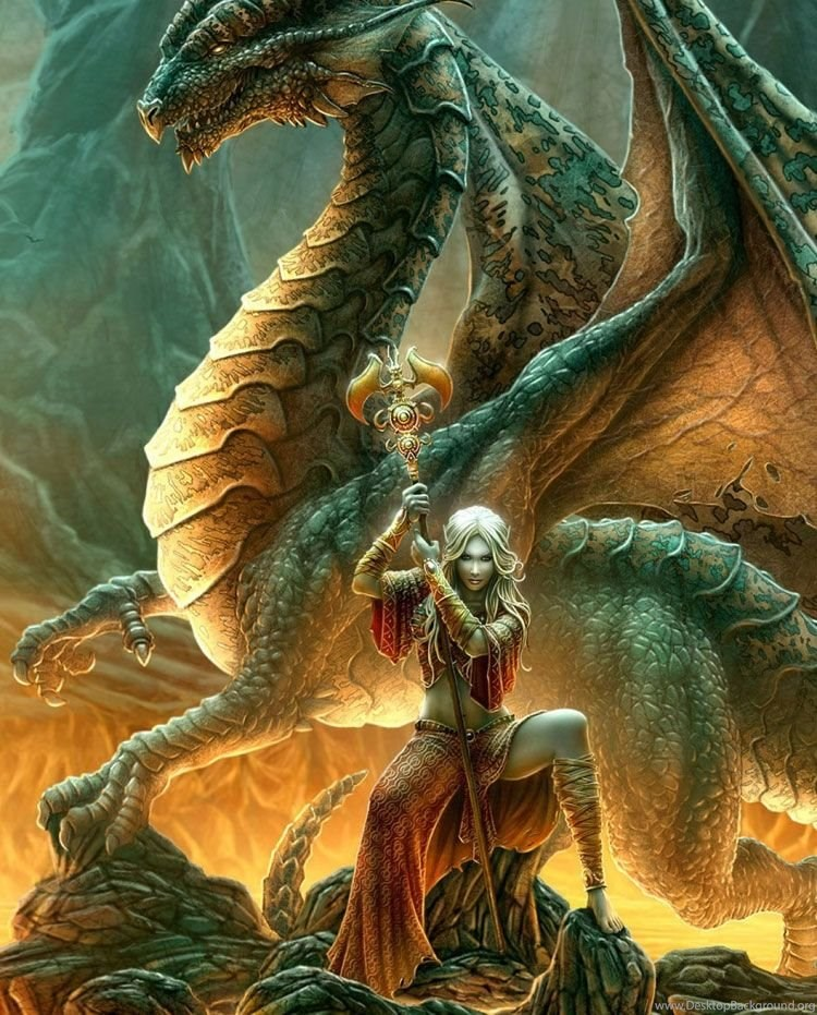Победивший дракона картинки