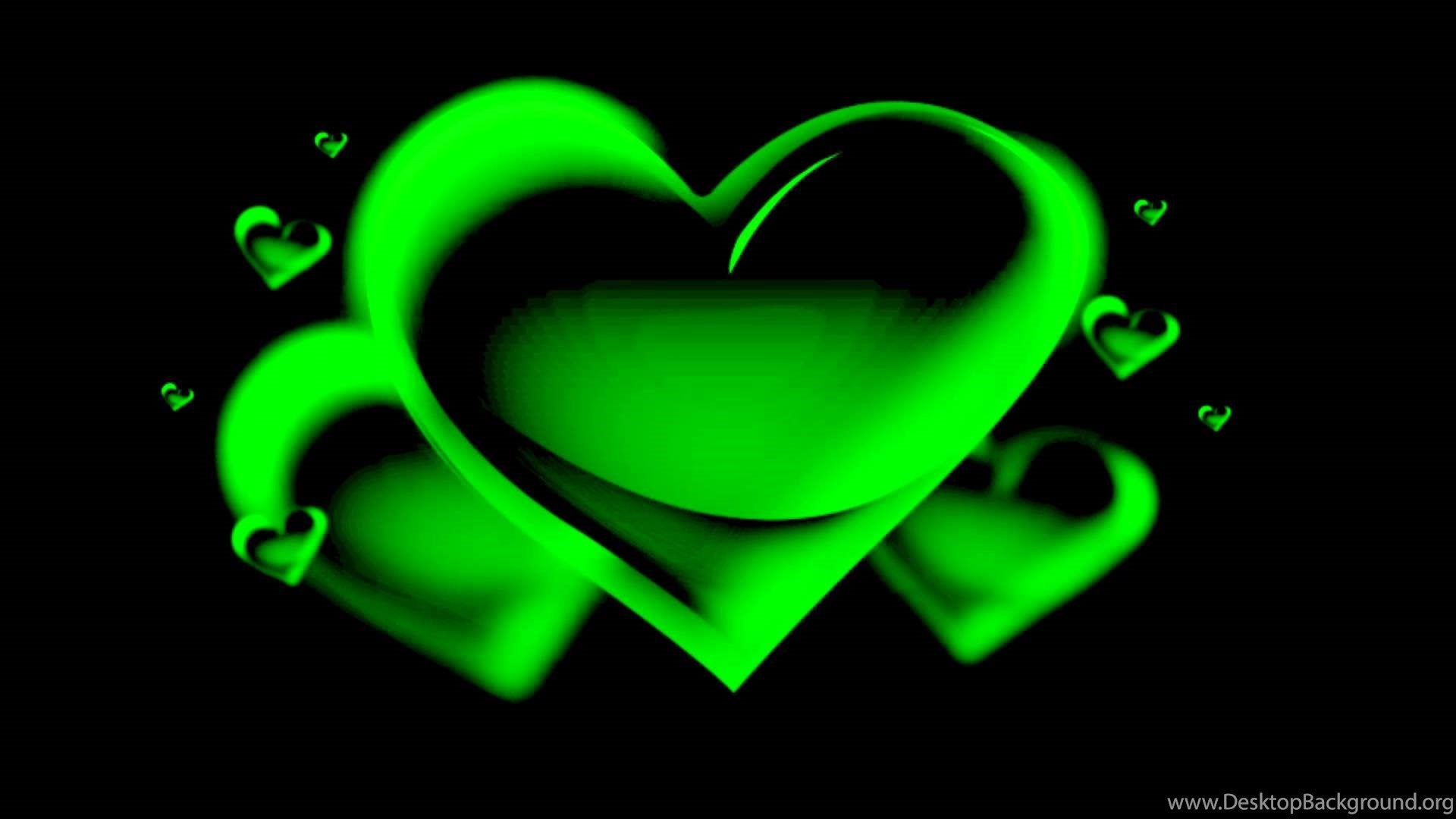 the green heart animation free chroma key effects youtube desktop