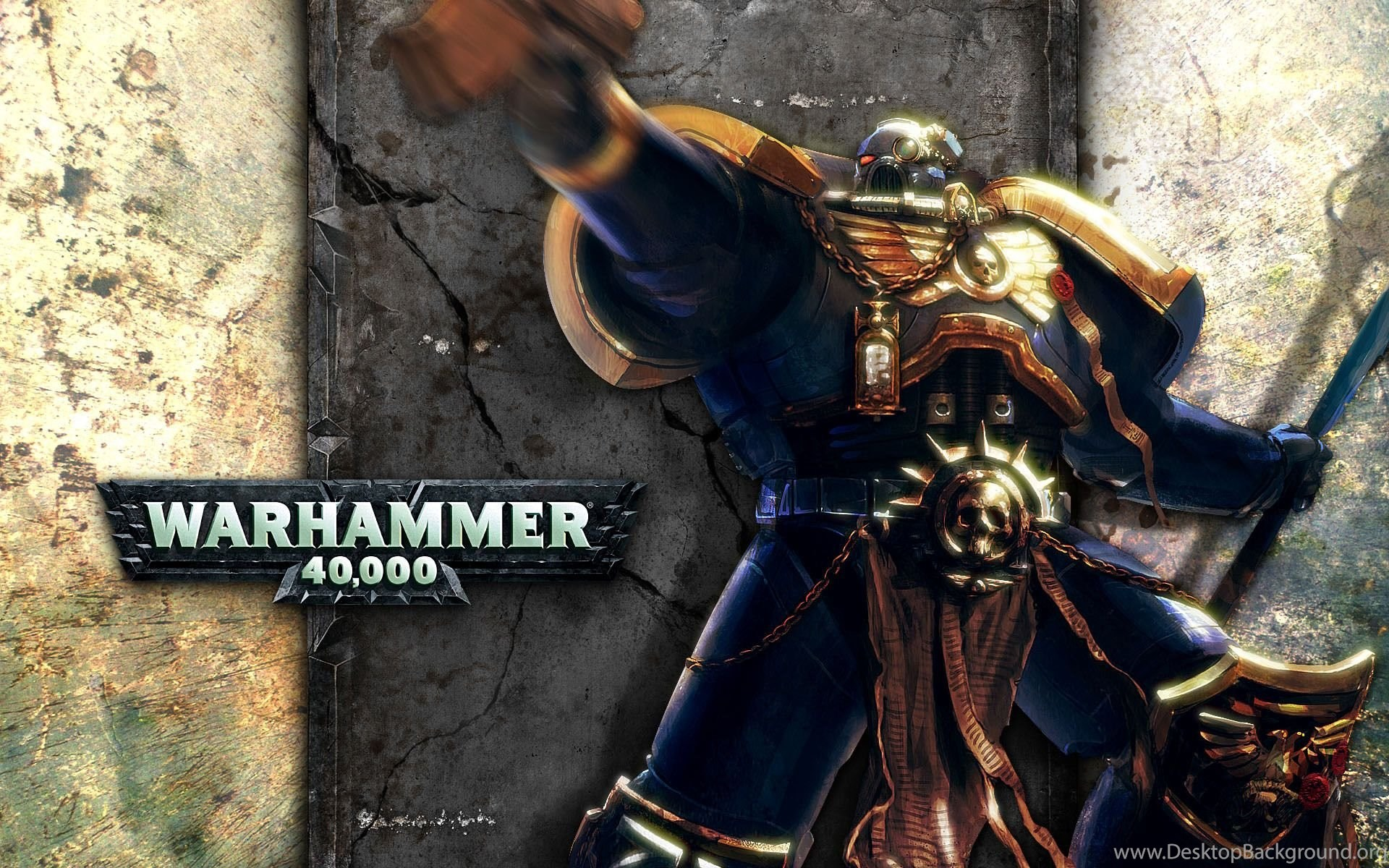 warhammer 40k ultramarines space marine wallpapers desktop background