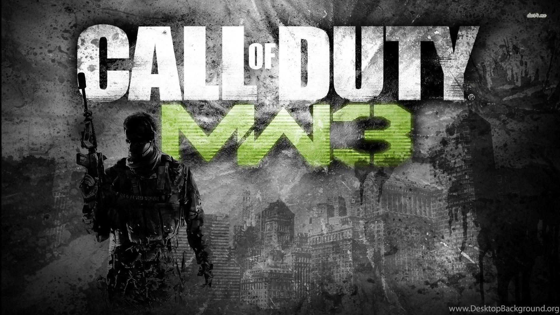 Call Of Duty Modern Warfare 3 Wallpapers Game Wallpapers Desktop