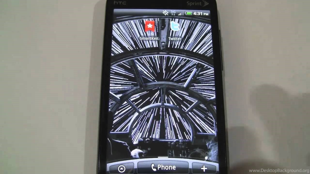 Star Wars Android Live Wallpapers From R2d2 Droid 2 On Htc Evo 4g