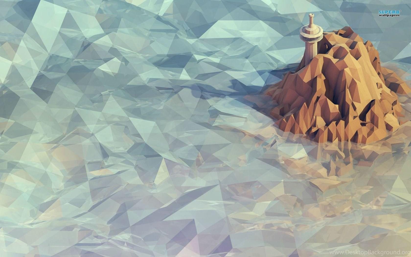 Mosaic Mountain Wallpapers Vector Wallpapers Desktop Background