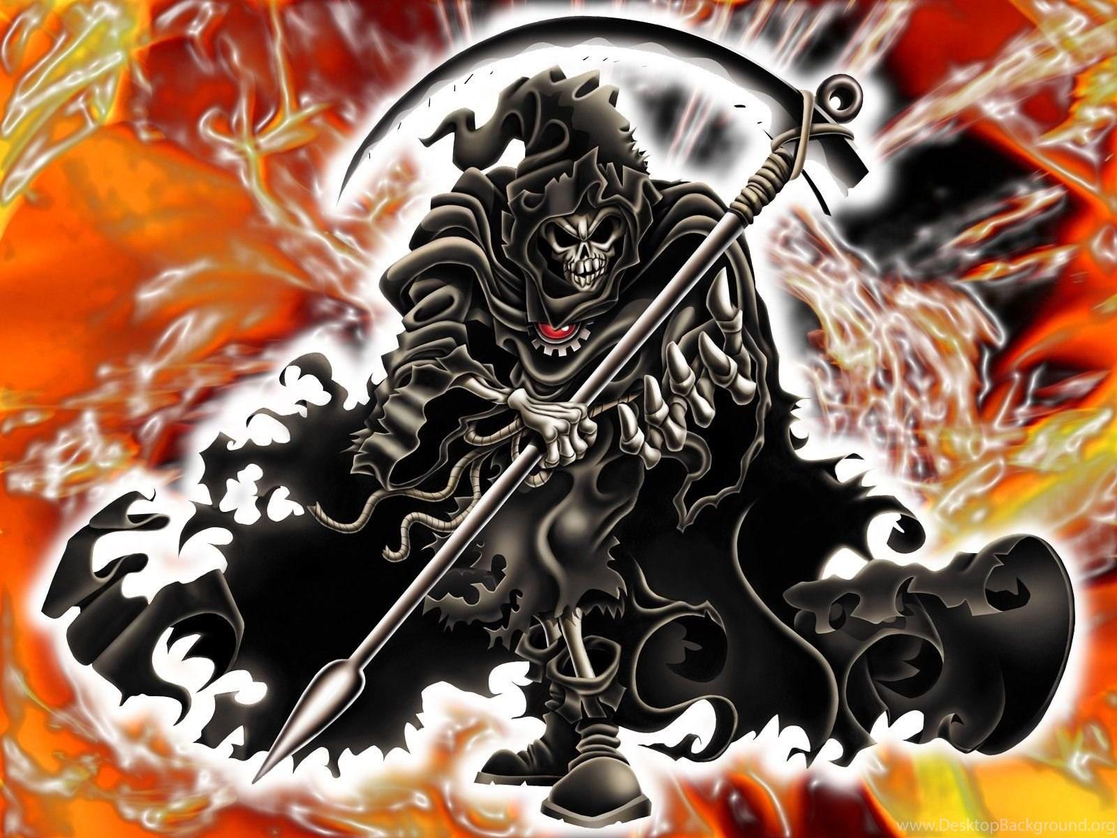 Free Grim Reaper Wallpapers Wallpapers Cave Desktop Background