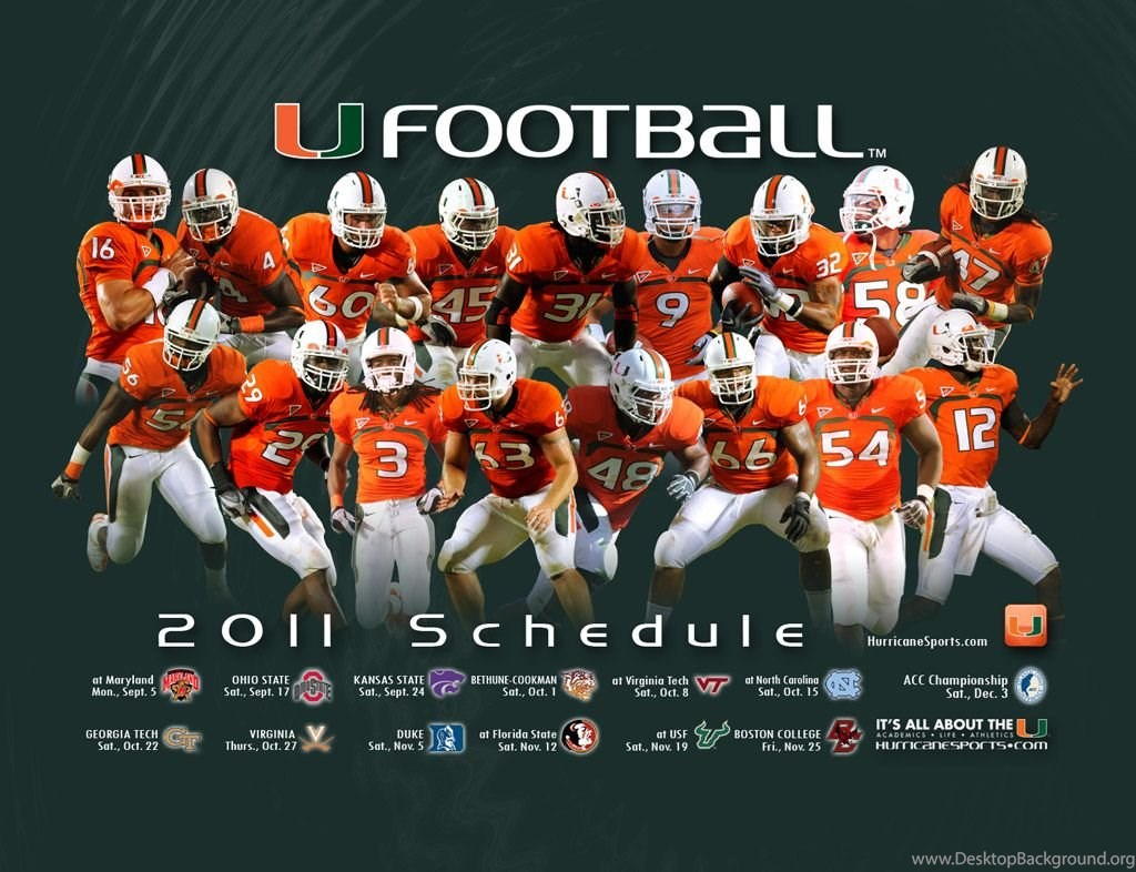 Images Miami Hurricanes Football Wallpapers Page 3 University Of Desktop Background