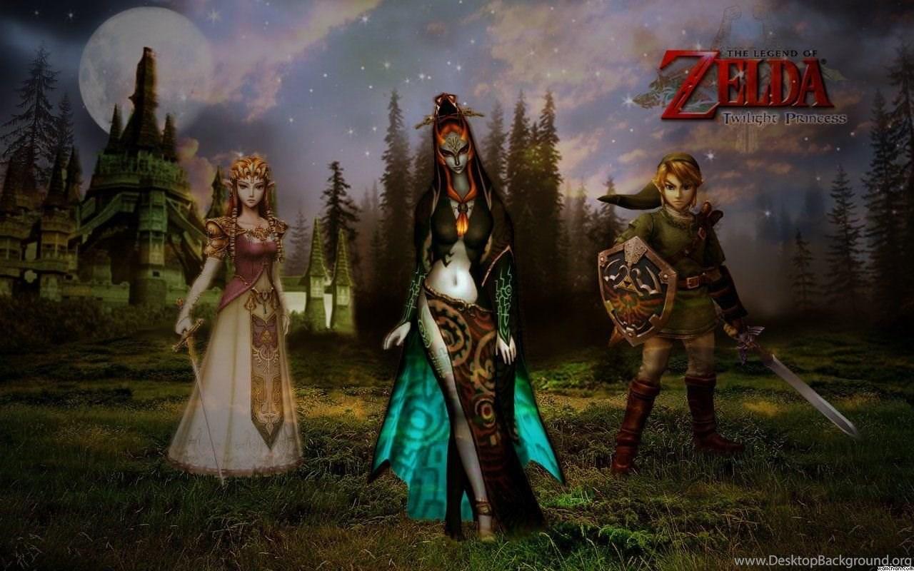 The Legend Of Zelda Twilight Princess Wallpapers Wallpapers Cave