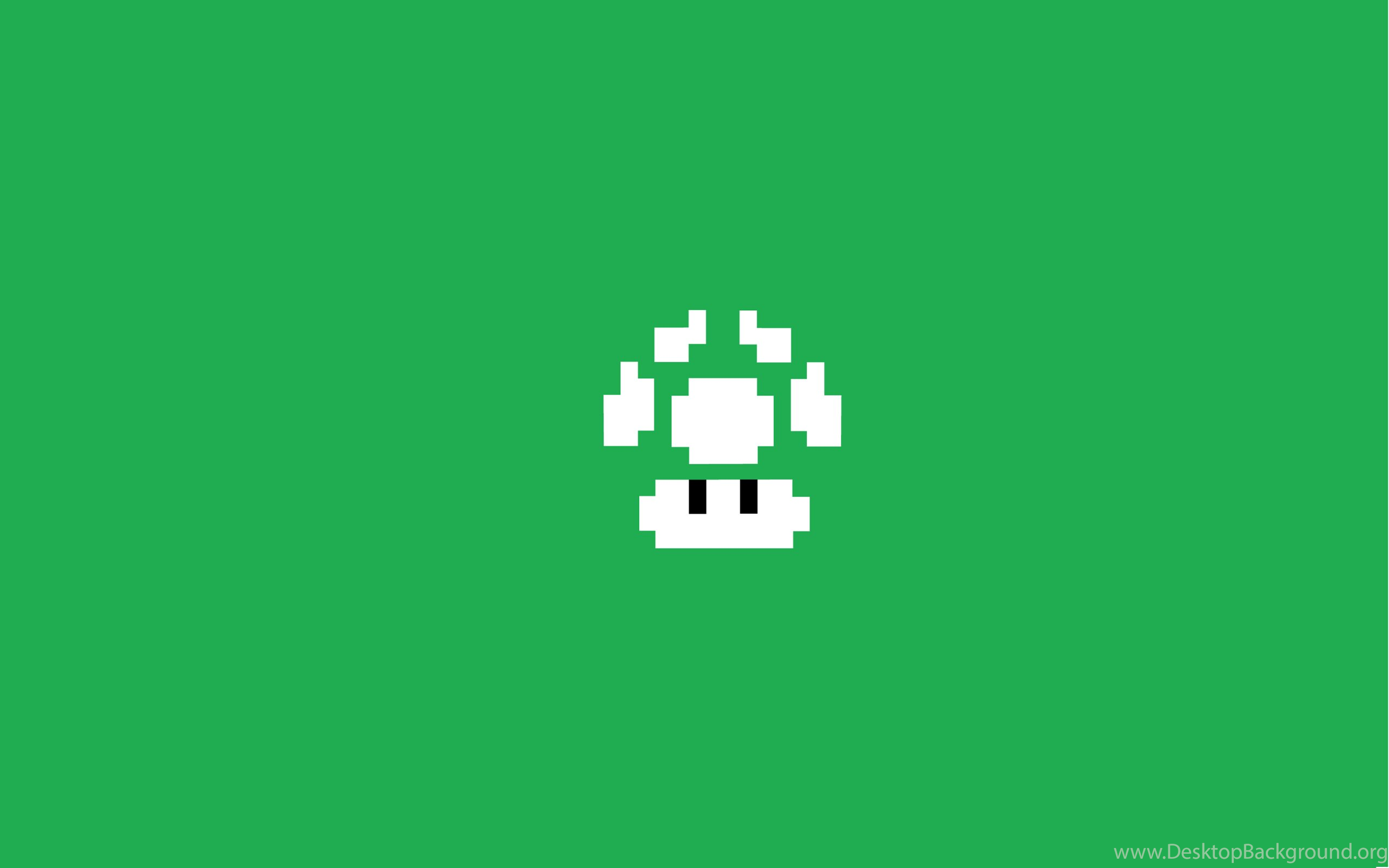 Figure On A Green Background Super Mario Bros Wallpapers