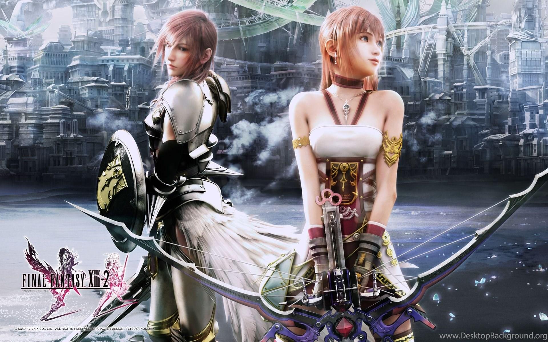 Final Fantasy Xiii 2 Ffxiii 2 Ff13 2 Wallpapers Desktop Background