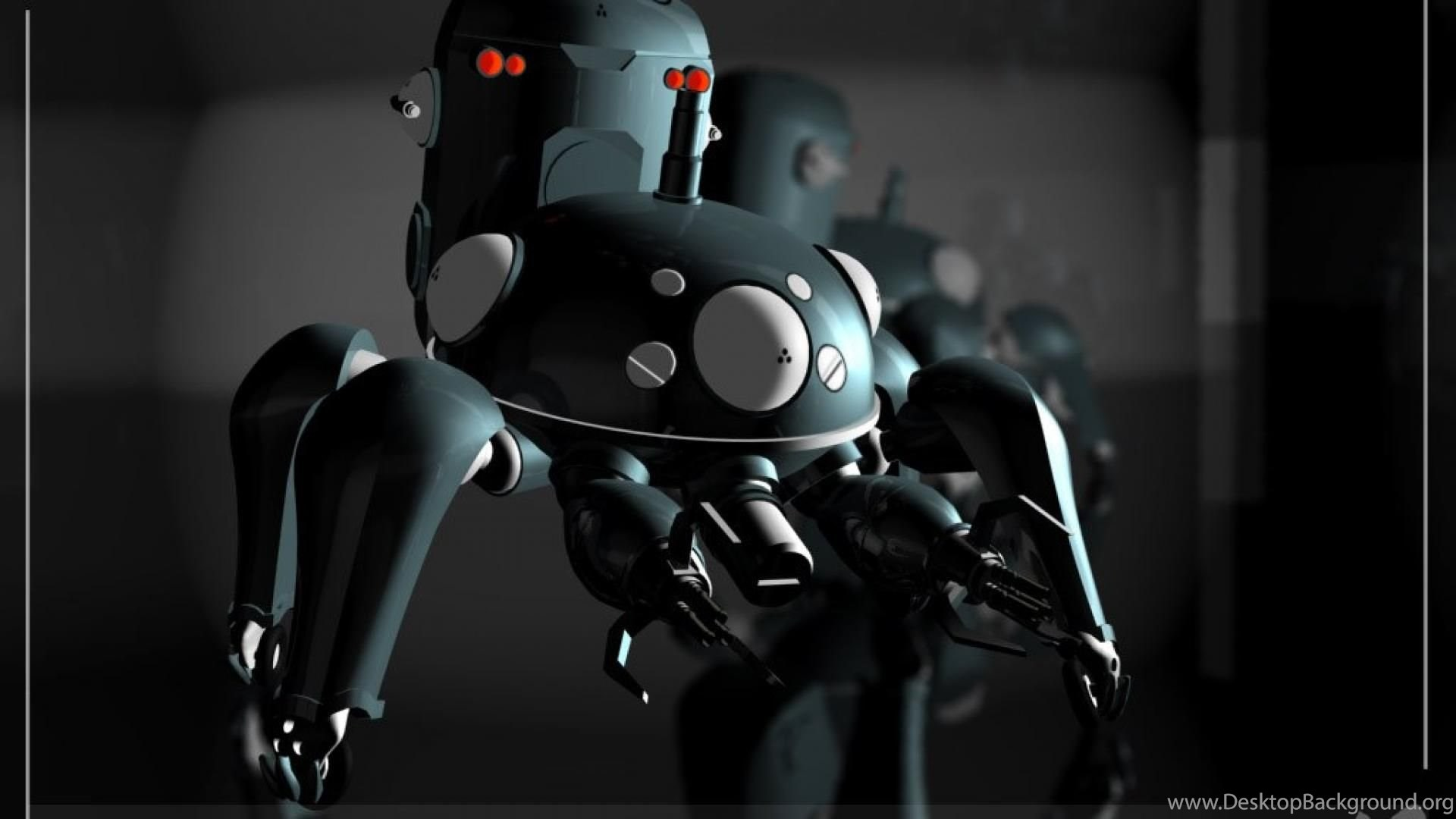 Tachikoma Ghost In The Shell Stand Alone Complex Hd Wallpapers