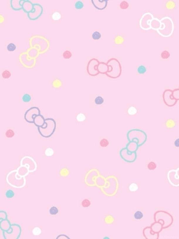 Background cute girl grunge hello japan kitty pastel pink desktop background - Pastel cute wallpaper ...