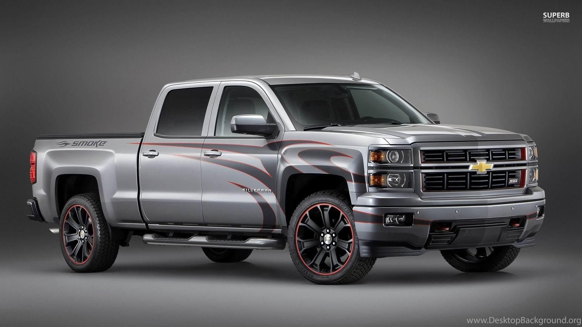 Lifted White Chevy Trucks Wallpapers Au Mf Desktop Background Silverado Popular