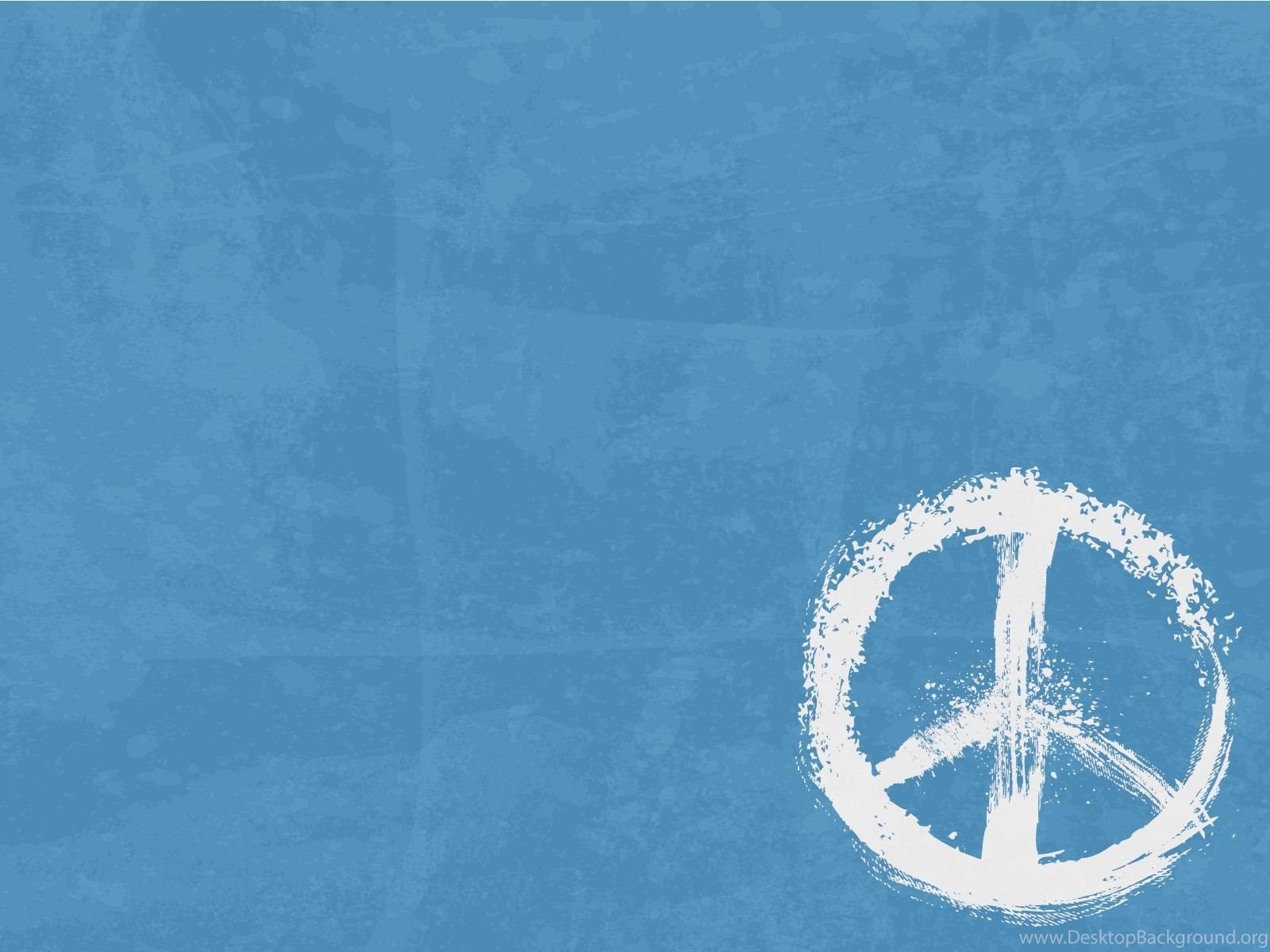 Peace sign powerpoint templates blue objects free ppt backgrounds fullscreen toneelgroepblik Gallery