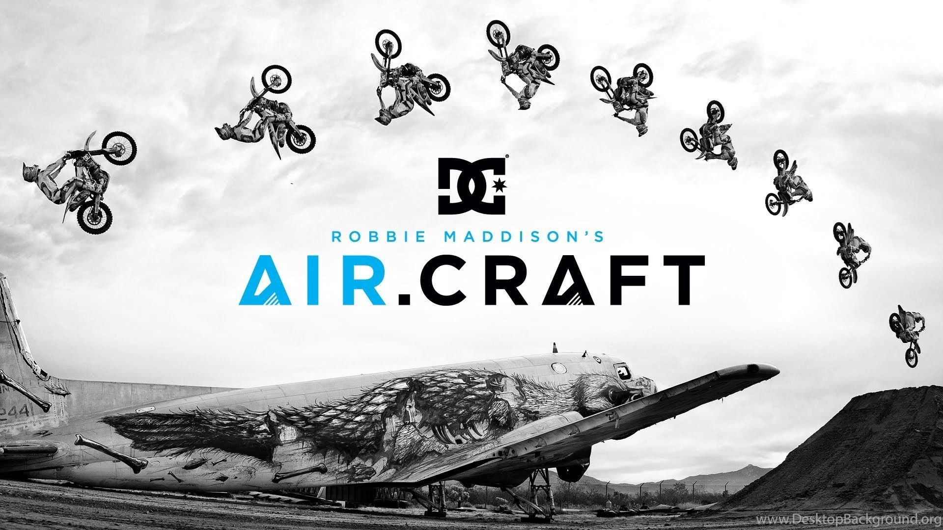 DC SHOES: ROBBIE MADDISON'S AIR CRAFT YouTube Desktop Background