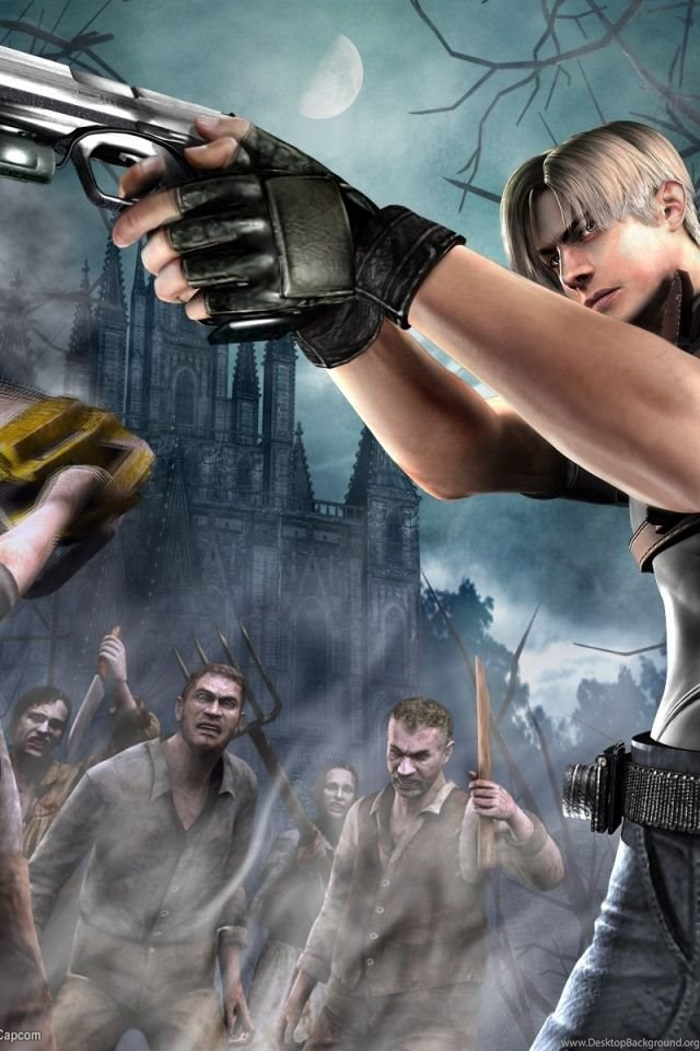 640x960 Resident Evil 4 Iphone 4 Wallpapers Desktop Background