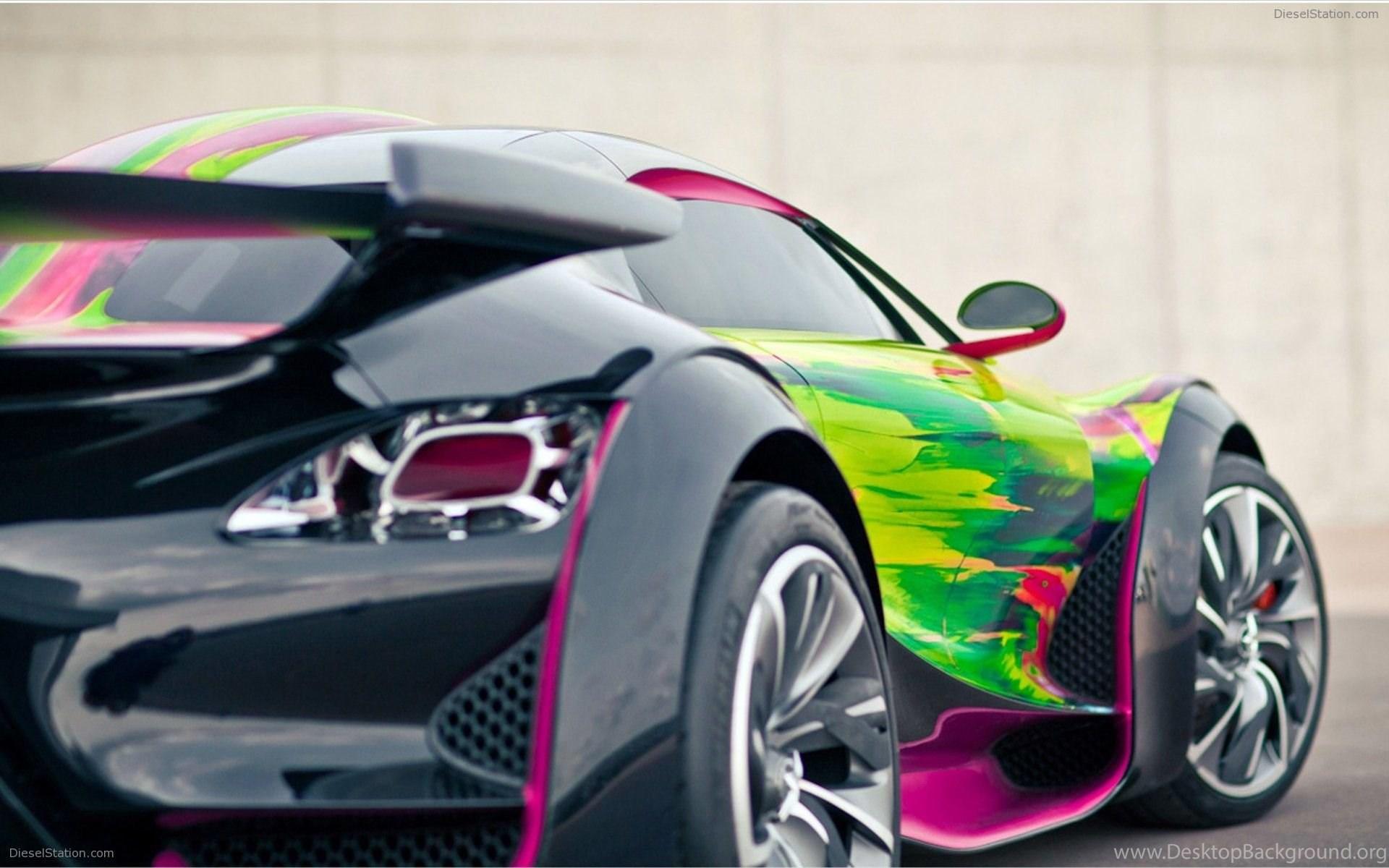 Citroen Survolt Art Concept Car Widescreen Exotic Car Wallpapers