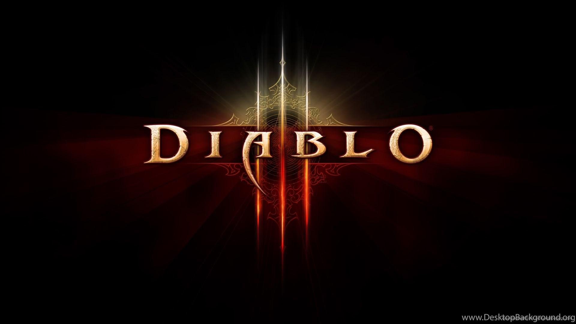 Download 1920x1080 Diablo 3 Hd Logo Wallpapers Desktop Background