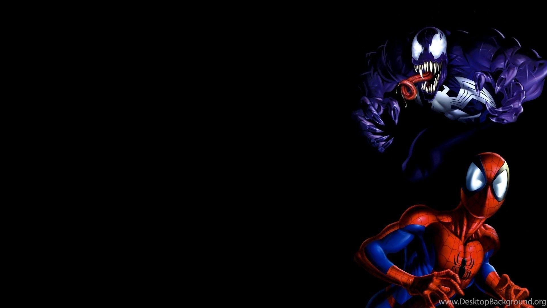 Venom Spider Man Marvel Comics Wallpapers Desktop Background
