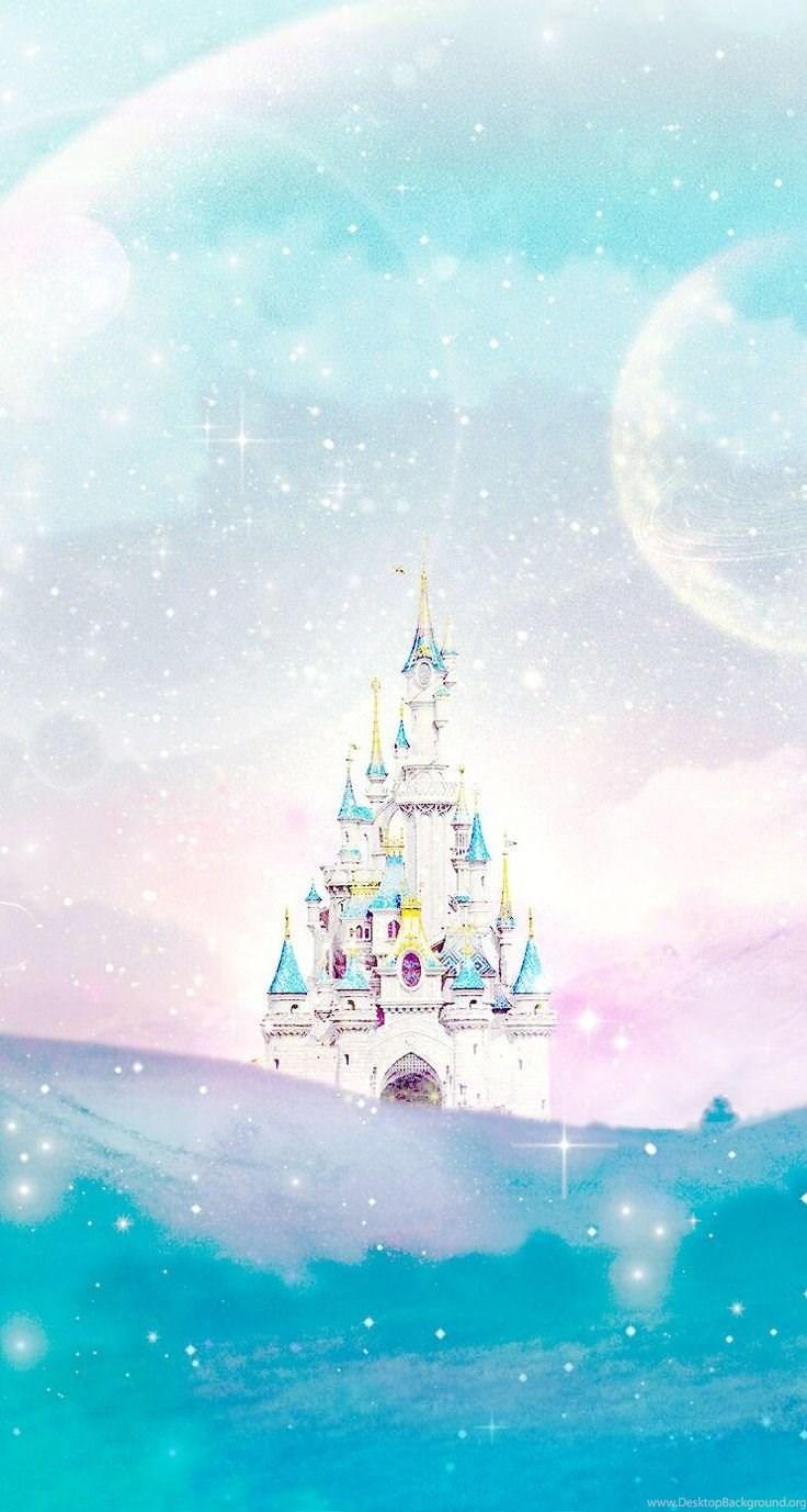 Disney Castle Line Iphone Wallpapers Desktop Background