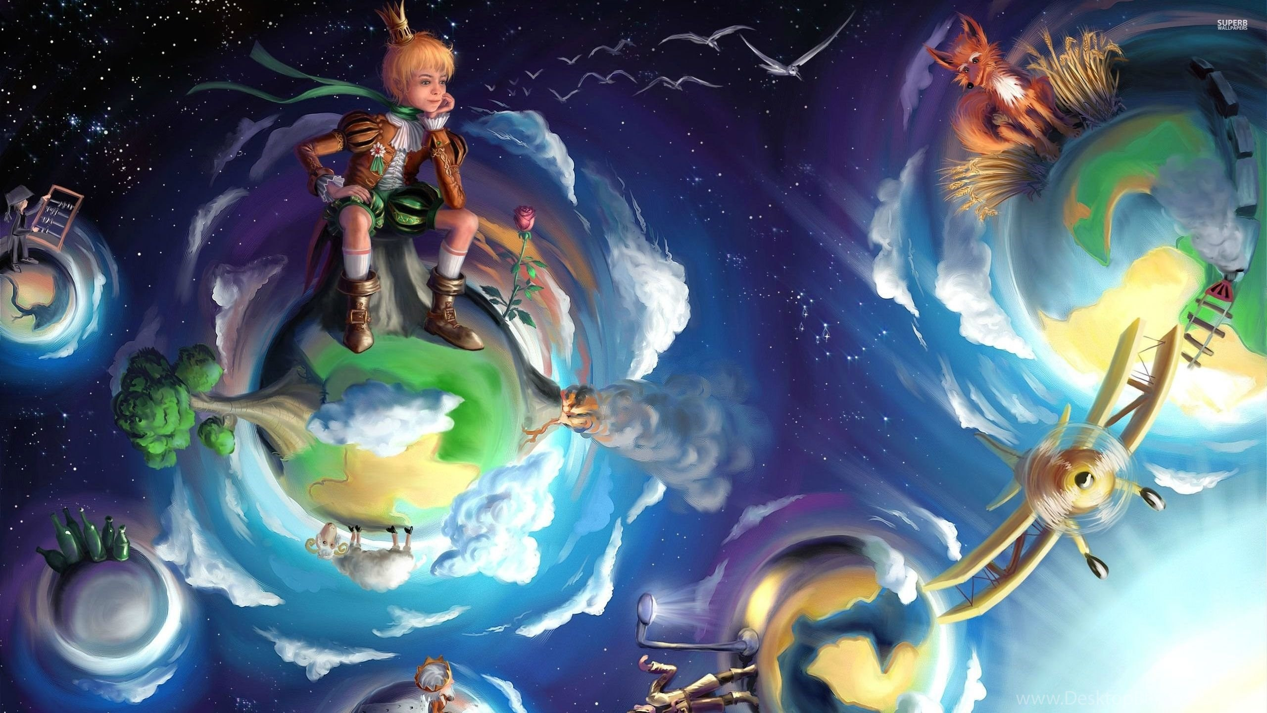The Little Prince Wallpapers Fantasy Wallpapers Desktop Background