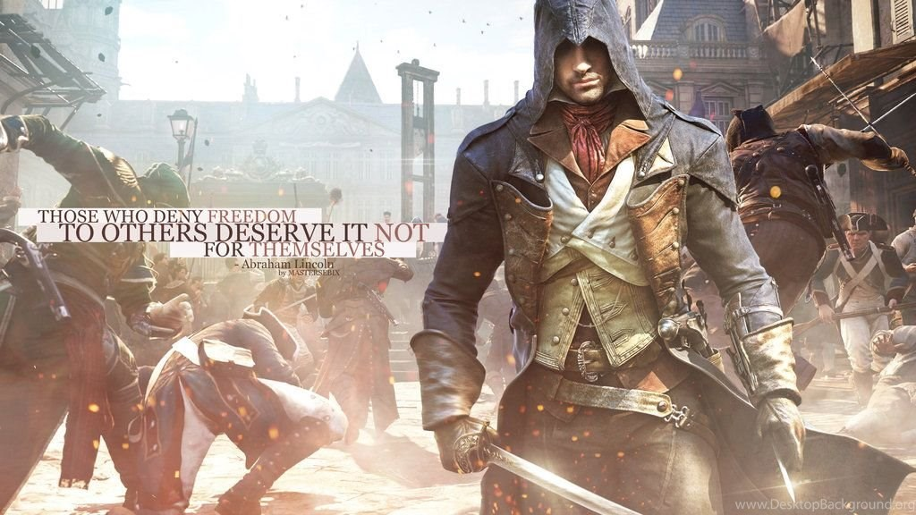 Assassins Creed Unity Wallpapers 1440p By Mastersebix On