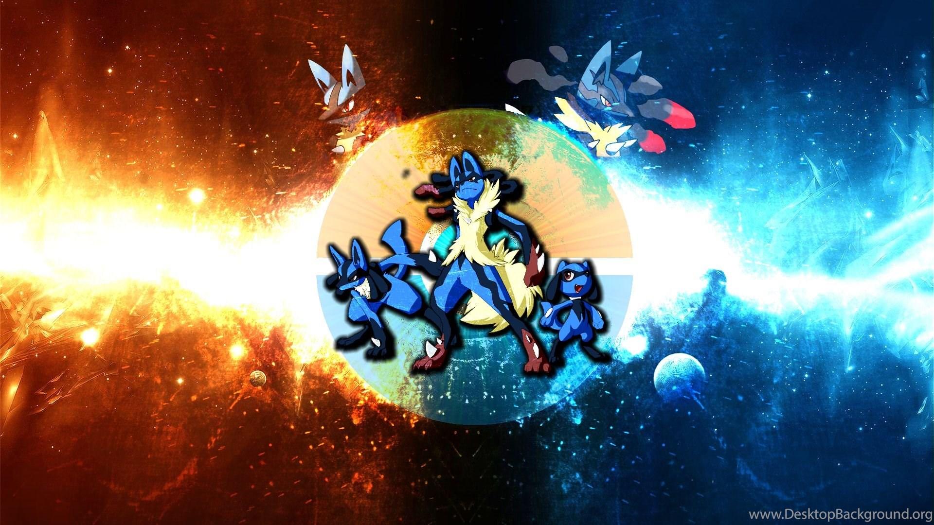 Mega Blaziken VS Lucario Wallpapers By FRUITYNITE On DeviantArt