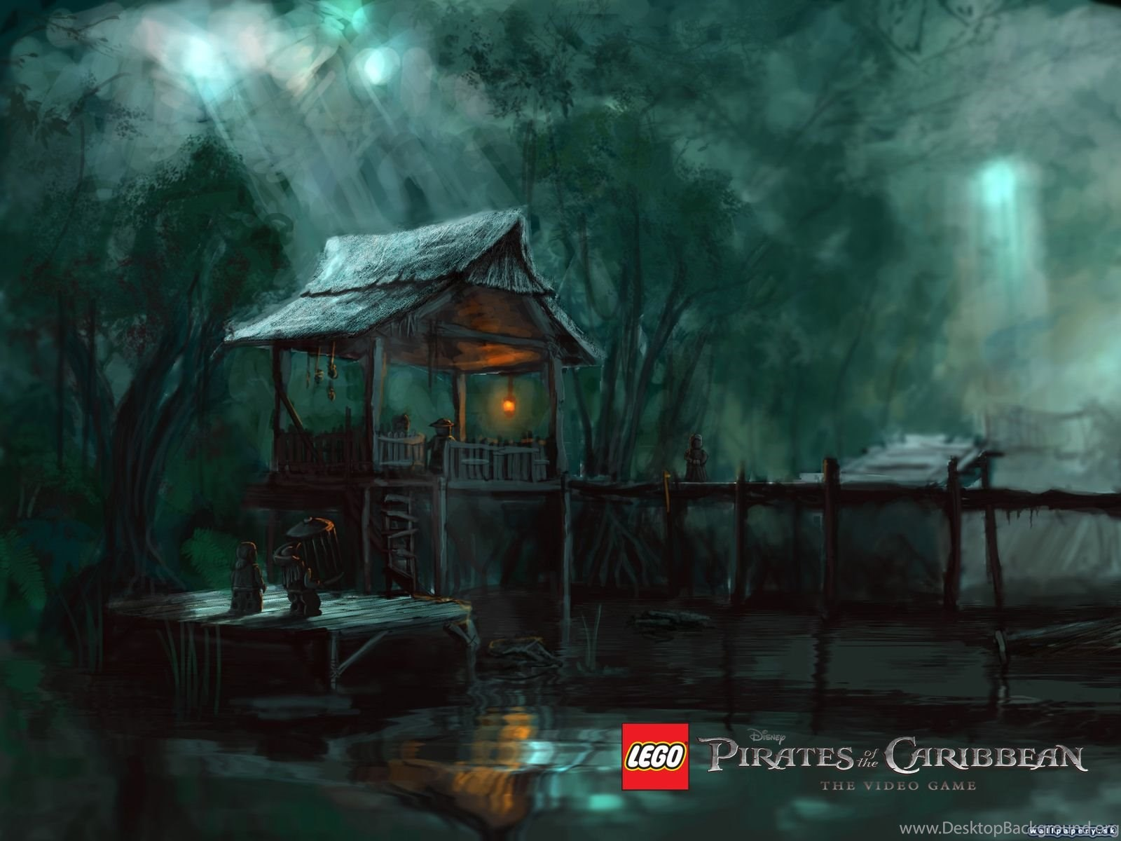 Lego Pirates Of The Caribbean Wallpapers 33786 Desktop Background