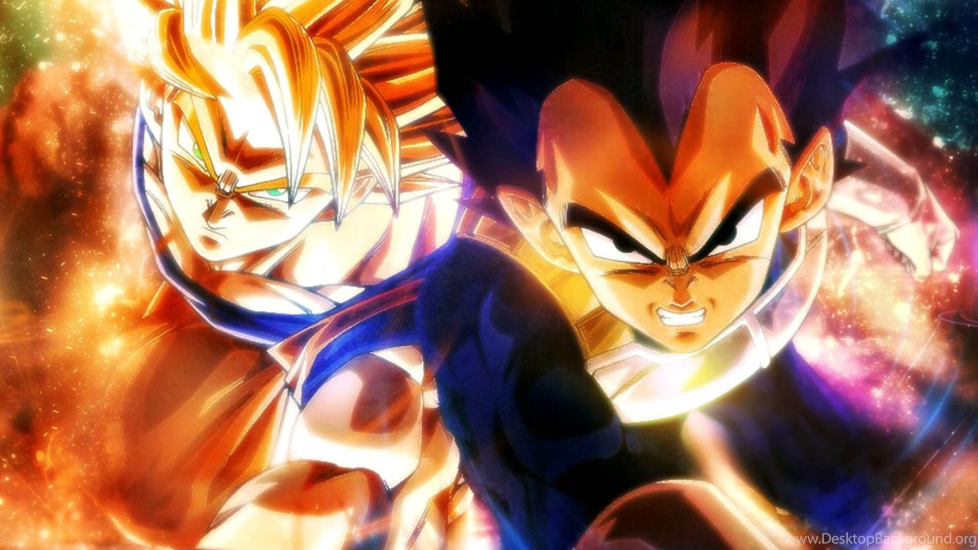 Dragon Ball Goku Vegeta 1920x1080 Full Hd 16 9 Wallpapers