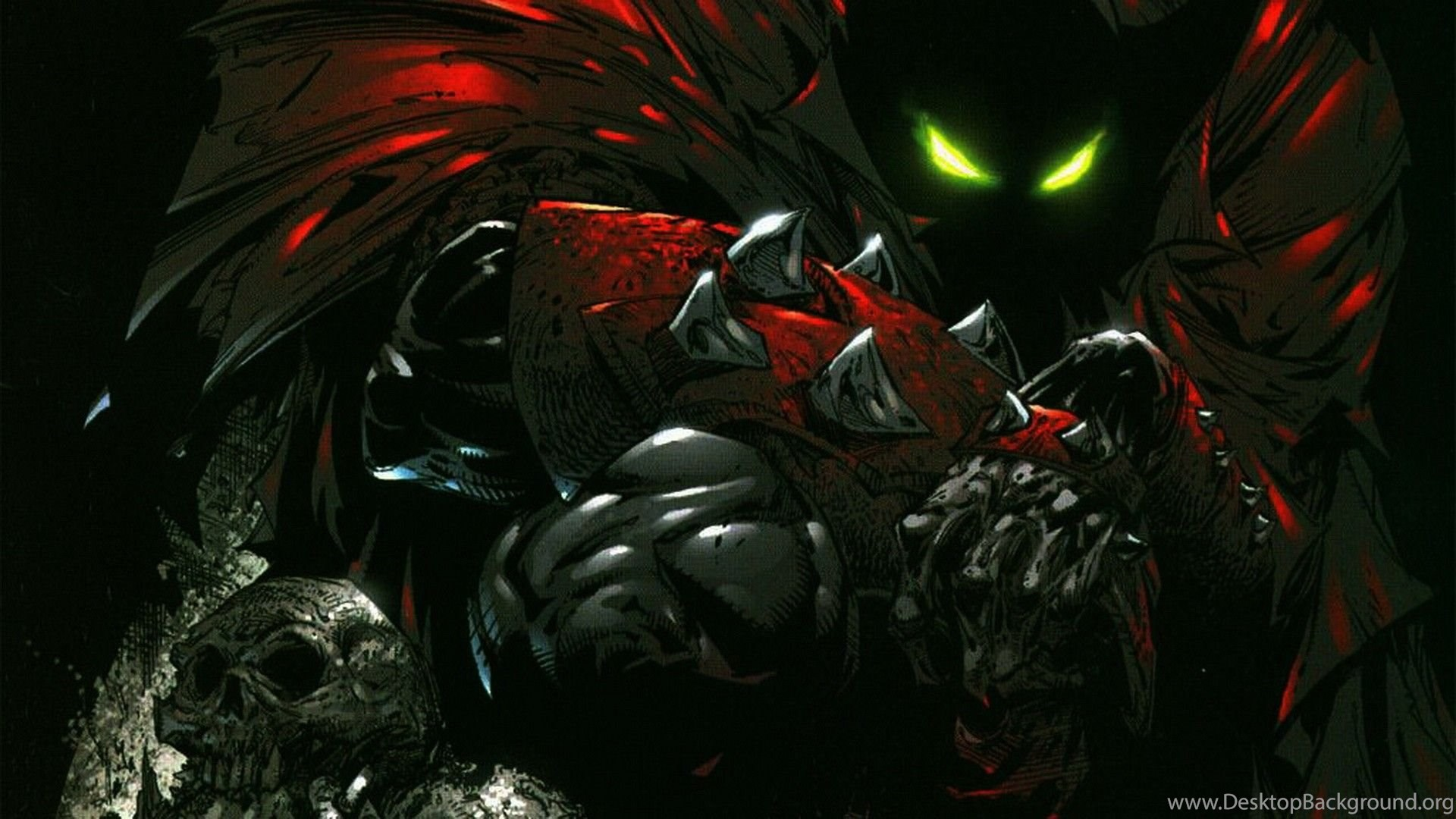 Spawn Wallpaper Hd 1920x1080: Spawn HD Wallpapers Made By Todd McFarlane Ready As