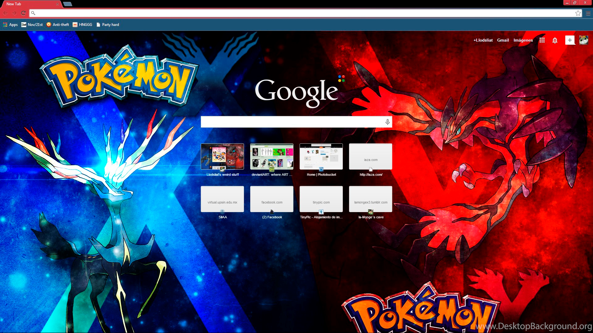 Google Chrome Themes Favourites By DreamingHetalia101 On DeviantArt
