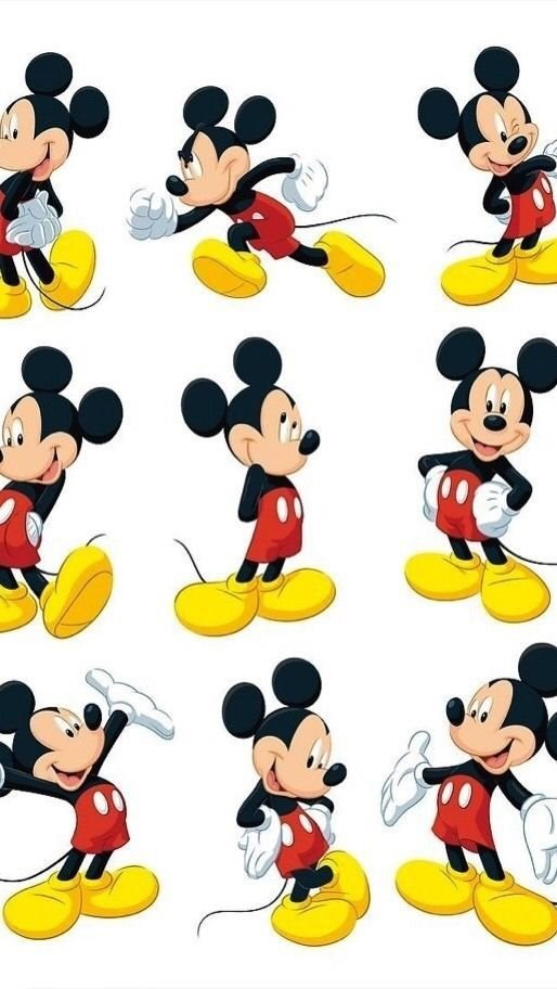 Black Cartoon Cute Disney Iphone Love Mickey Mouse Red Desktop Background