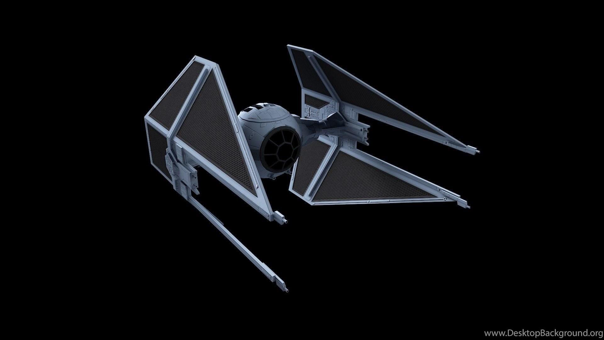 Tie Fighter Star Wars Futuristic Spaceship Space Sci Fi Wallpapers Desktop Background