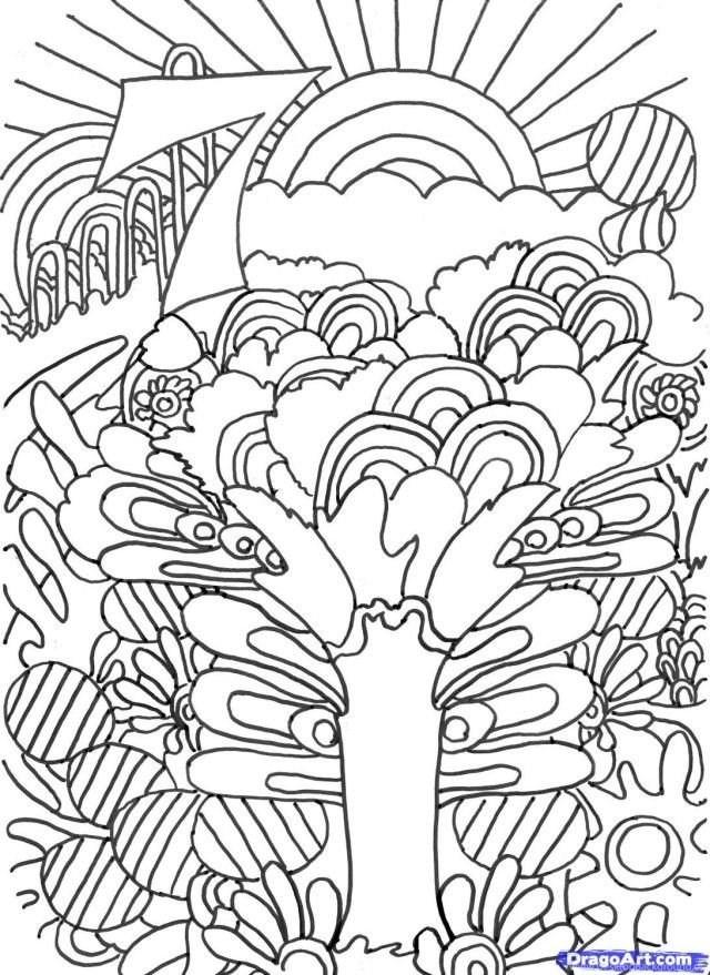 - Trippy Coloring Book Pages AZ Coloring Pages Desktop Background